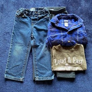 3T clothing lot for toddler
